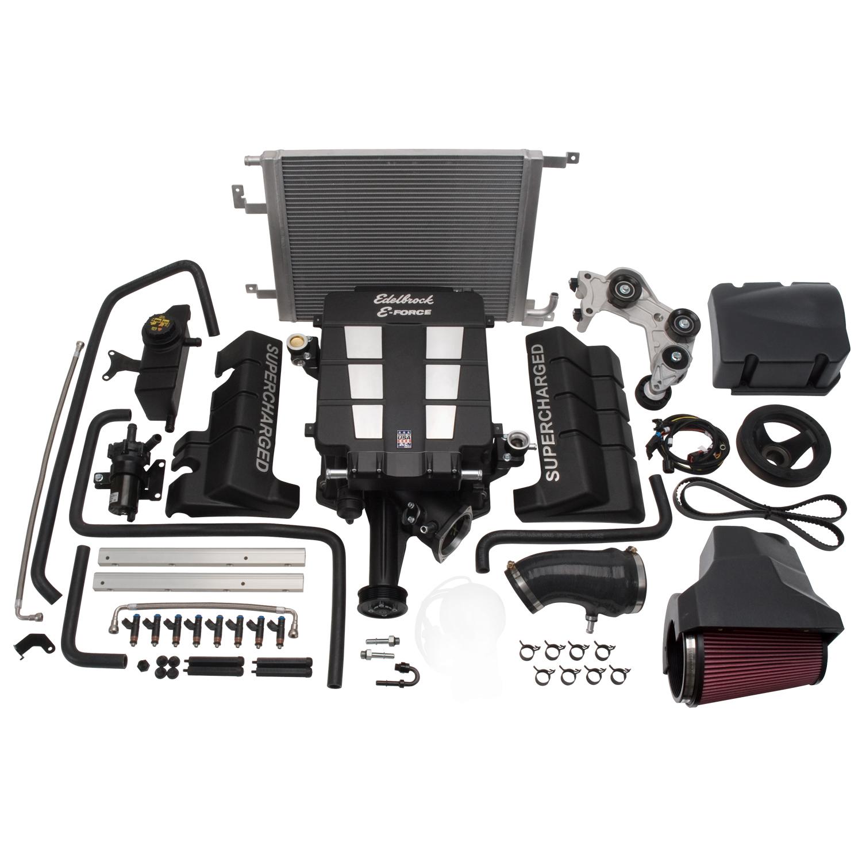 Edelbrock 15360 E-Force Supercharger for 2005-10 Chrysler/Dodge 6 1L - No  Tune
