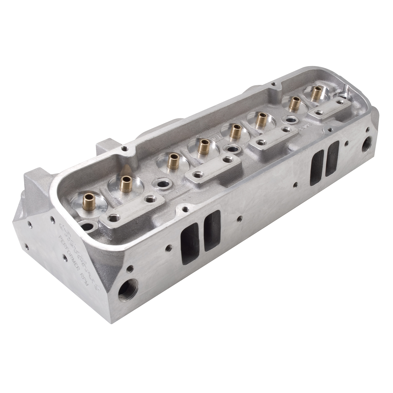 Edelbrock 60509 RPM Pro Port Pontiac Cylinder Head 72cc Bare