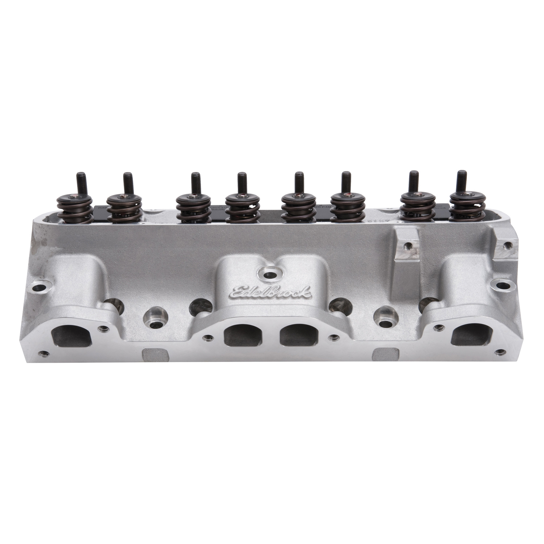 Edelbrock 61515 RPM CNC Pontiac Cylinder Heads 72cc